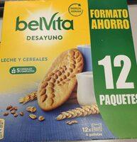 Galletas belvita 5 cereales - Producto - es