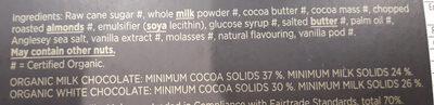 Milk Collection Organic - Ingrédients - en