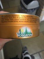 Bonbon  arôme naturel parfum miel citron - Ingrédients - fr