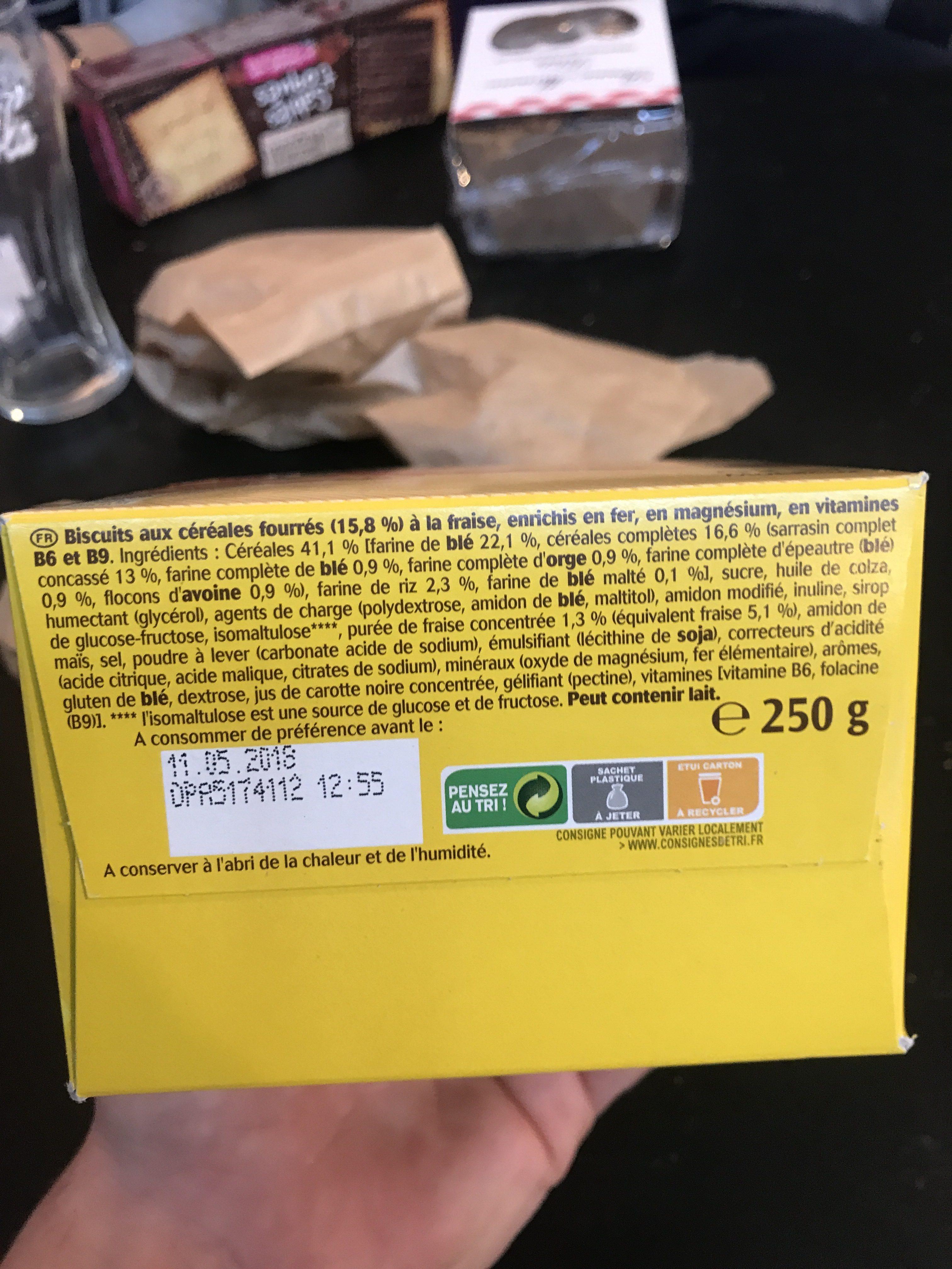 Belvita petit dejeuner moelleux - Ingredients - fr