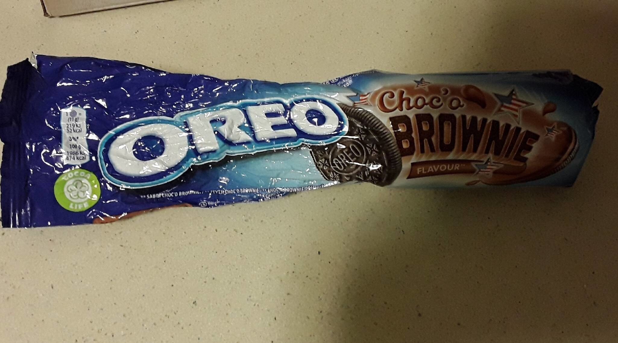 Oreo Brownie 154G - Producto - fr