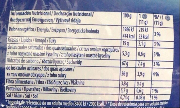 Oreo Brownie 154G - Información nutricional - fr