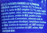 prince  chocolat - Ingredients - fr