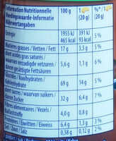 prince  chocolat - Nutrition facts - fr