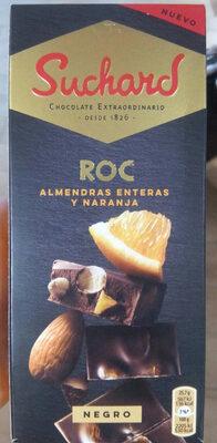 Negro Roc Almendra Entera Y Naranja