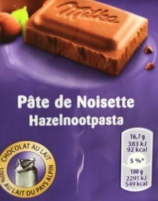 Pate de noisette - Product - fr