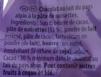 patamilka - Ingredients - fr