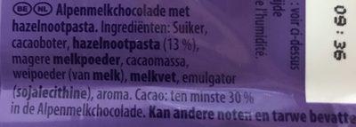 patamilka - Ingrediënten - nl