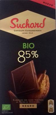 Chocolate negro Bio 85% - Producto