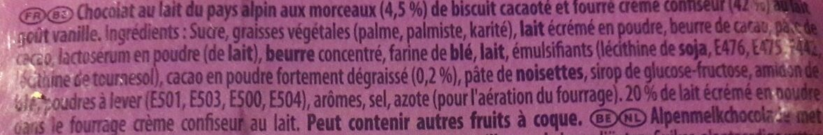 L'œuf coque OREO - Ingredienti - fr