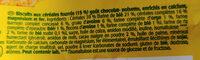 Belvita - Ingrediënten