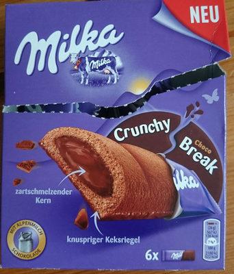 Milka Crunchy Break - Produkt - de