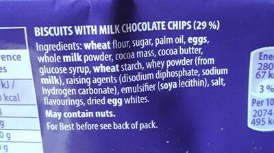 Cookies choc chip - Producte - fr