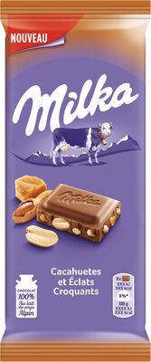 Chocolat cacahuètes et Éclats Croquants - Produit - fr