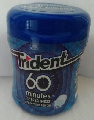 Chicles 60 min. Pepermint flavour - Producto - es