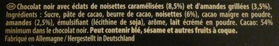 Suprême Haselnuss Mandel - Ingredienti - fr