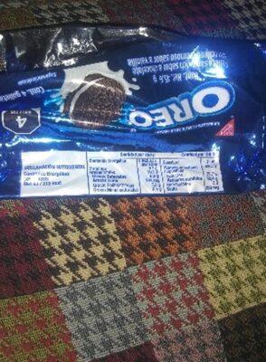 Oreo - Información nutricional - es