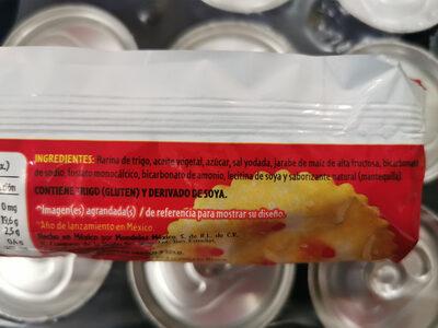Ritz - Ingredientes - es
