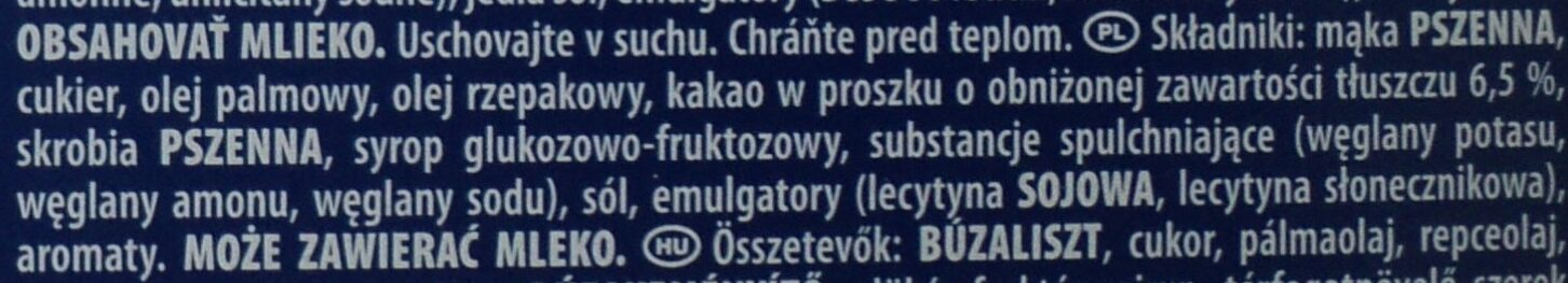 Oreo Brownie - Składniki - pl