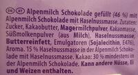 Feine Eier mit Noisette - Ingrediënten - de