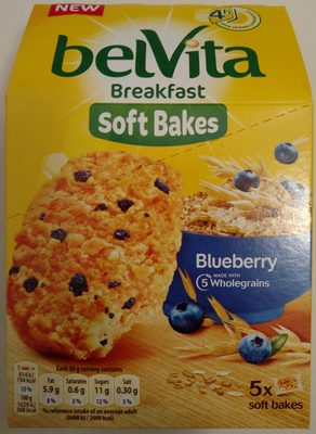 Soft bakes - Blueberry - Producto - en