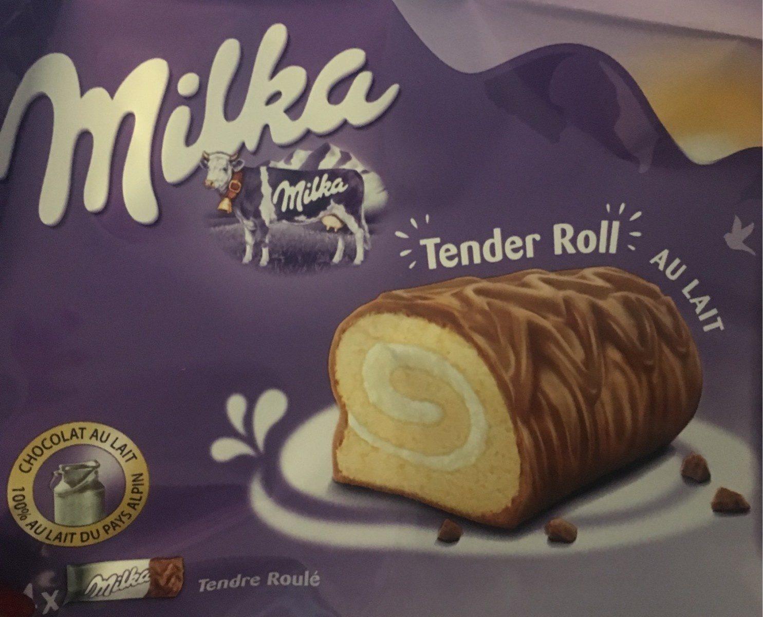 Milka tender roll - Product - fr