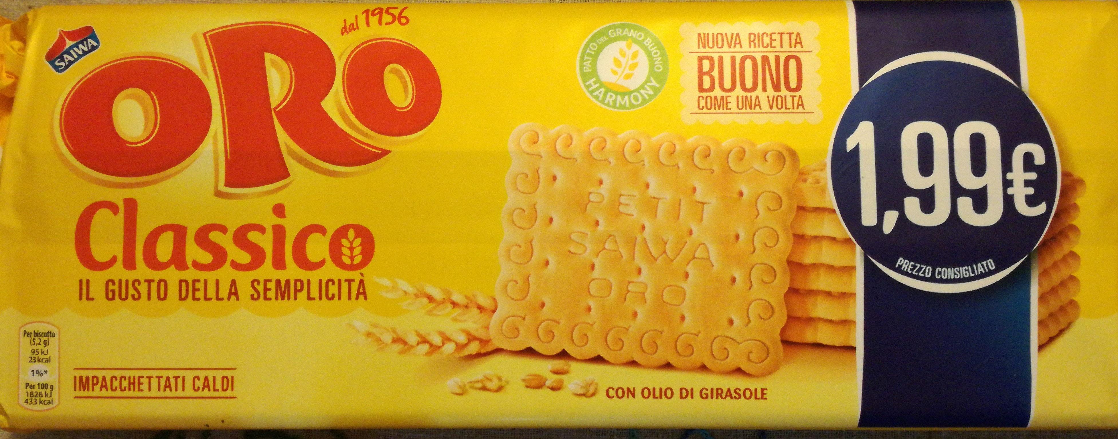 Oro Classico - Produkt