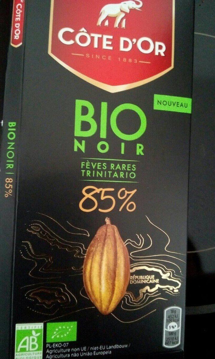 Chocolat Bio noir - Voedigswaarden