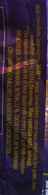 Dairy Milk - Ingredients - en