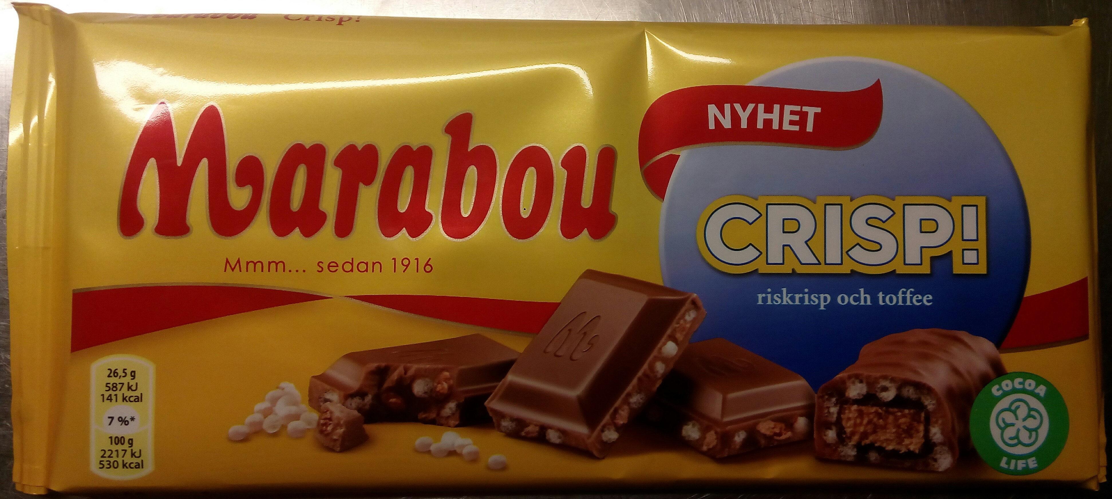 marabou crisp nyhet