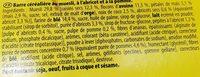 GRANY - Ingrédients - fr