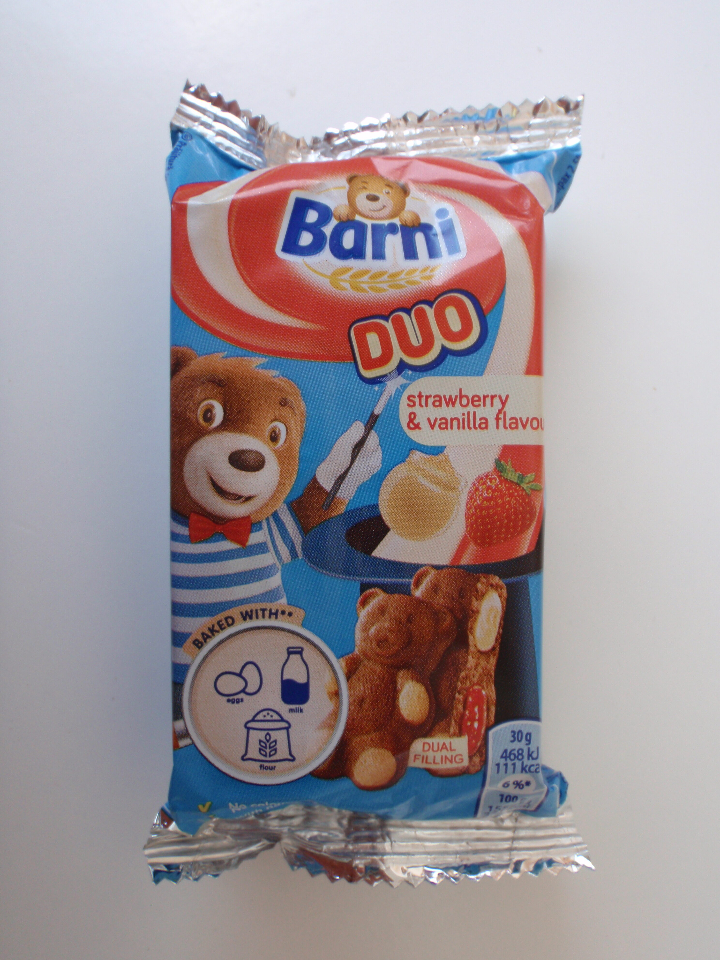 Barni duo căpșune și mere - Produit