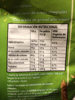 Galletas - Informations nutritionnelles