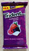 Kaugummi Forest Fruits flavor - Produit - de