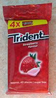 Kaugummi Strawberry flavor - Product