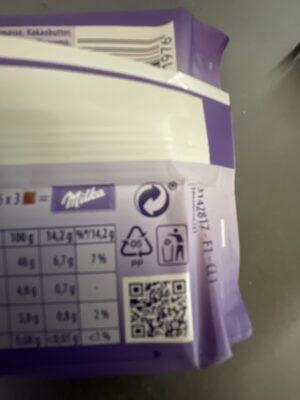 Darkmilk - Instruction de recyclage et/ou informations d'emballage - de