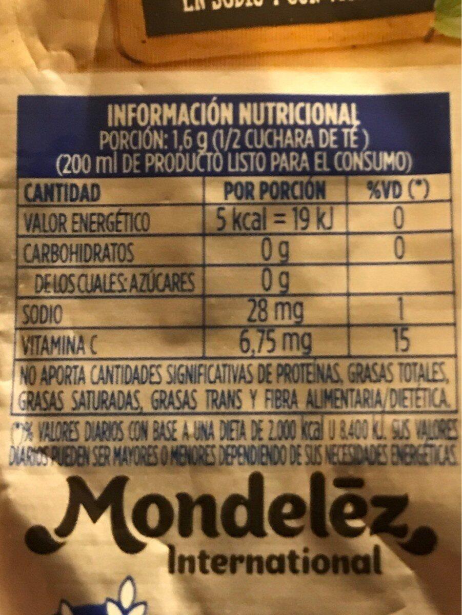 Clight - Informations nutritionnelles - fr