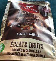 Eclats bruts amandes et caramel salé - Product - fr