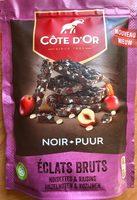 Éclats bruts noisettes & raisins - Product - fr
