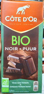 Chocolat noir Côte d'Or Bio - Produit - fr