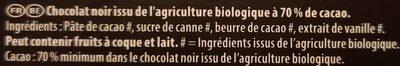 Bio noir mignonette - Ingrédients