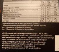 Bio noir mignonette - Informations nutritionnelles - fr
