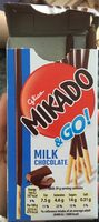 Mikado biscuit sticks milk chocolate - Produit - en