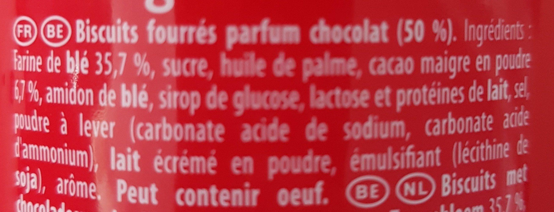 Prince Maxi Gourmand Extra Goût Chocolat - Ingredients - fr