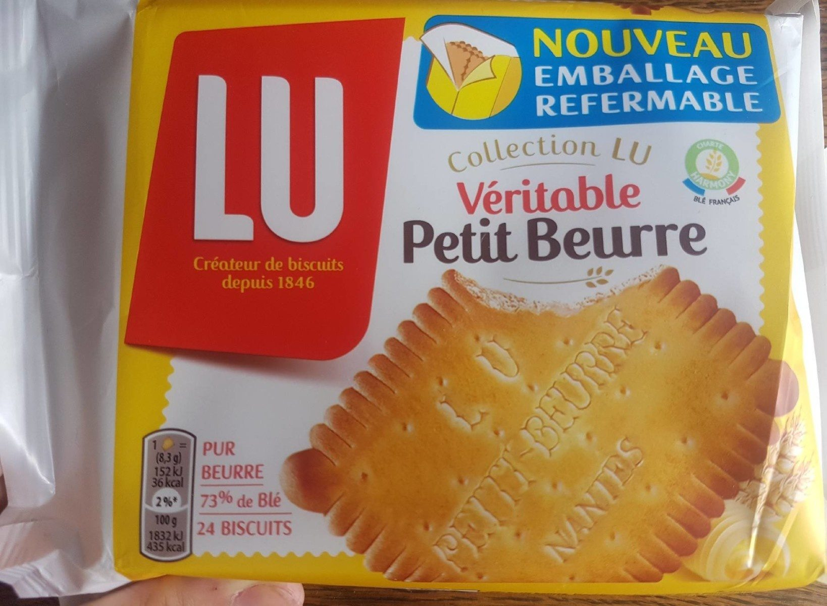 Véritable petit beurre - Produit