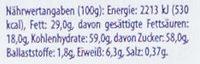 Milka Alpenmilch Weihnachtsmann - Informations nutritionnelles - de