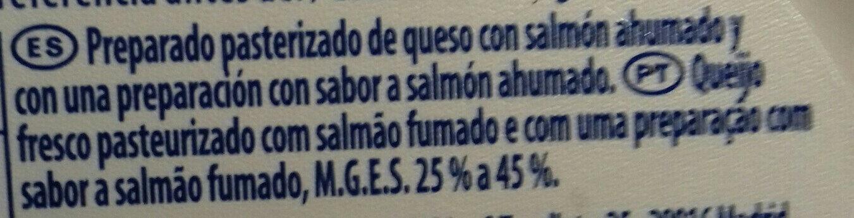 Philadelphia Saumon - Ingredientes - fr