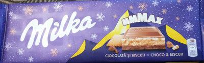 Milka mmmax choco&biscuit - Produit