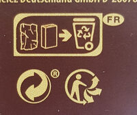 Chocolat noir aux noisettes entières - Recycling instructions and/or packaging information - fr
