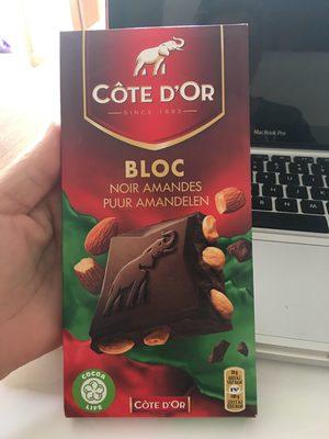 Bloc Noir Amandes - Product - fr